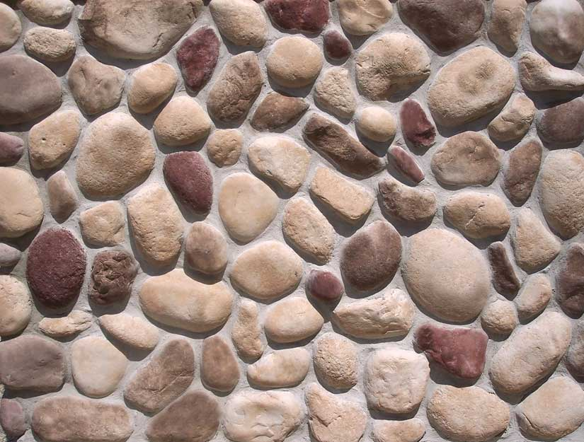 Earthblend river rock cultured stone for walls cast for What are river stones