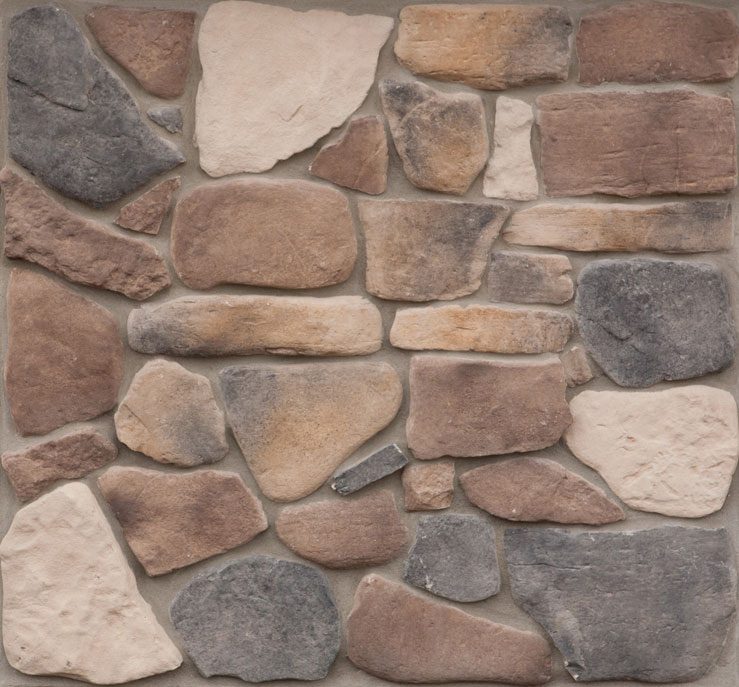 Horseshoe Bay Fieldstone Manufactured Stone For Walls