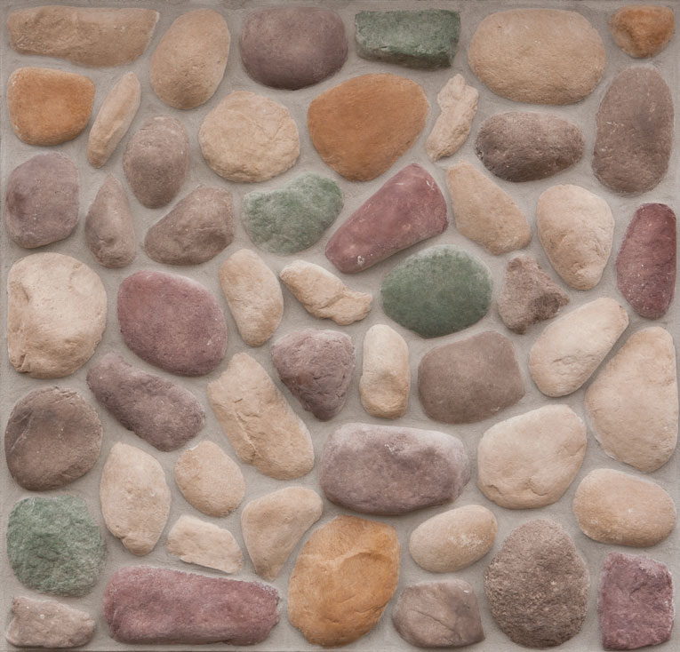 Northwoods River Rock Manufactured Stone For Walls Cast Natural