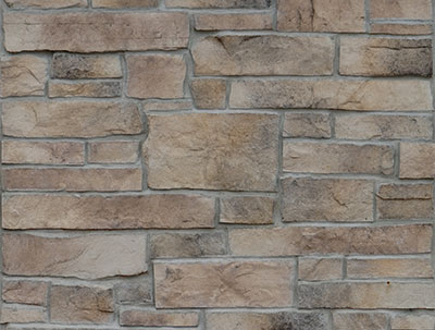 Santa Fe Ledgestone Manufactured Stone For Walls Cast Natural Stone Veneer